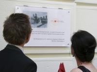 """Enthüllung der Gedenktafel \""""100 Jahre St. Josef\"""""""
